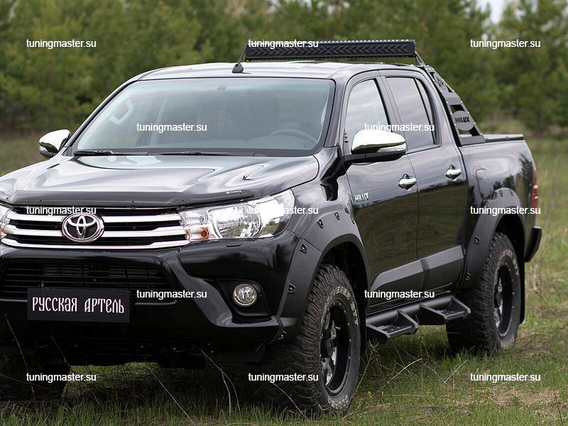 Расширители колесных арок Toyota Hilux (вынос 50 мм) 4