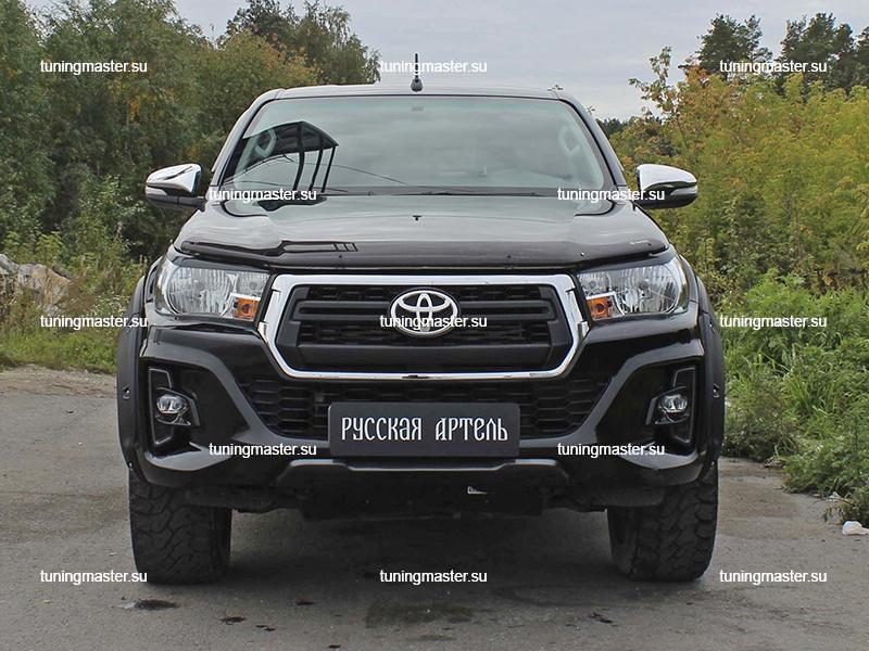 Расширители колесных арок Toyota Hilux Exclusive (вынос 50 мм) 4