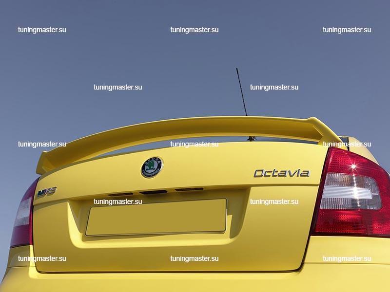 Спойлер на крышку багажника Skoda Octavia A5 RS
