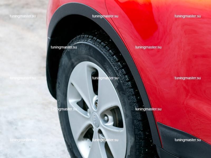 Накладки на колесные арки Kia Soul