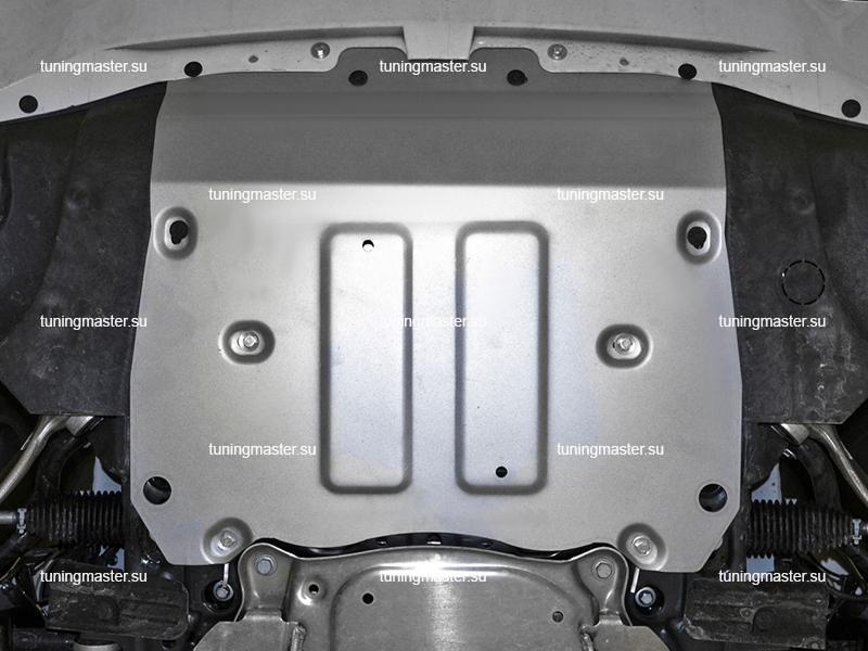 Защита радиатора и картера BMW X6 G06
