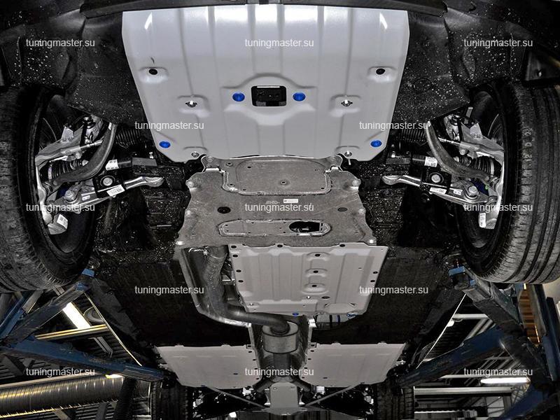 Комплект защит для BMW X5 G05