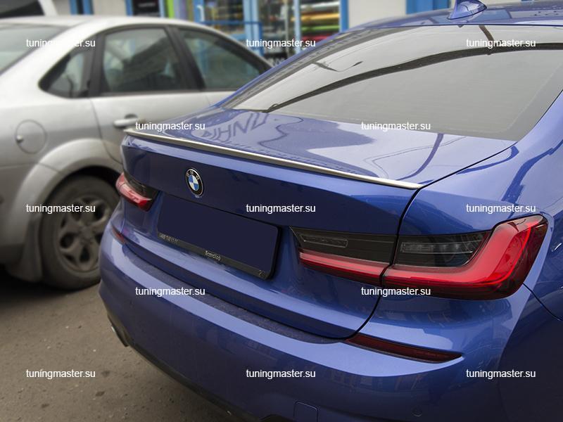 Спойлер на крышку багажника BMW 3 (G20)