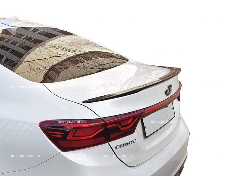 Спойлер на крышку багажника Kia Cerato 4