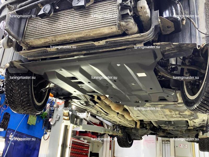 Композитная защита картера и КПП Mercedes Benz V-Class (полный привод)