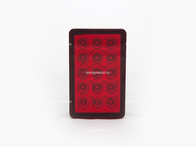 Стоп-сигнал в диффузор заднего бампера (красный)