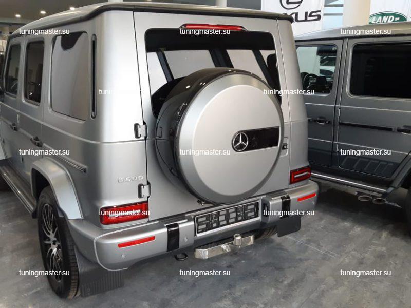 Фаркоп Mercedes Benz G-CLass с хромированной накладкой