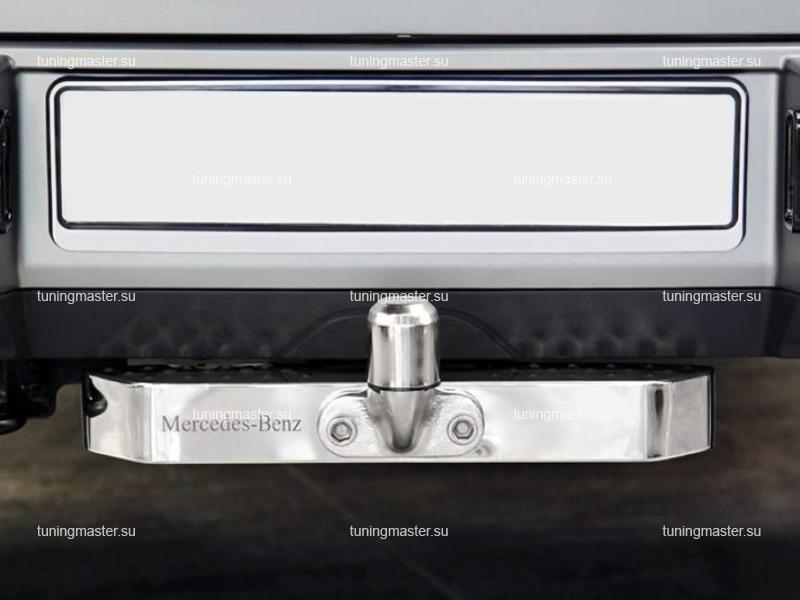 Фаркоп Mercedes Benz G-CLass W463 с хромированной накладкой
