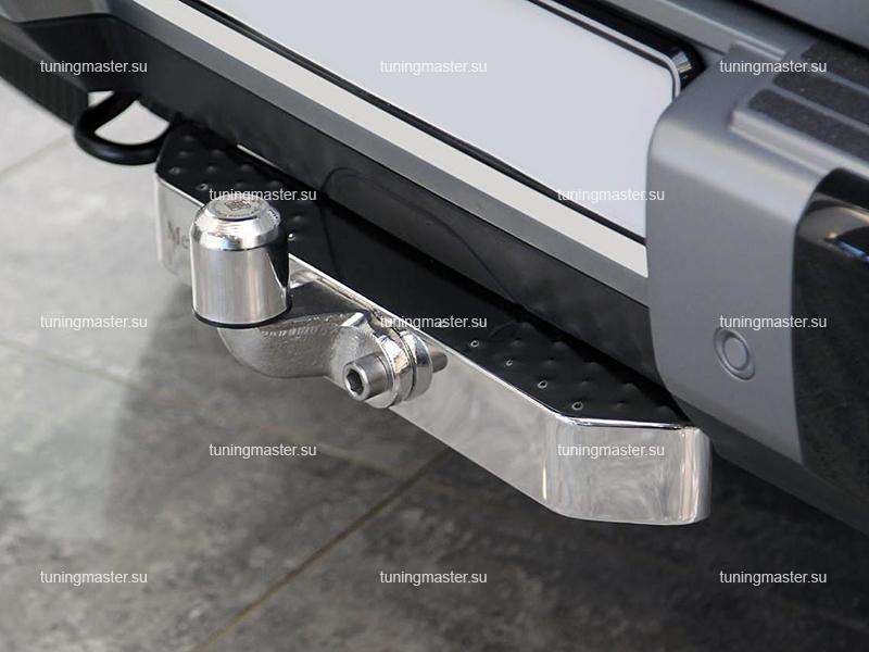 Фаркоп Mercedes Benz W463 с хромированной накладкой