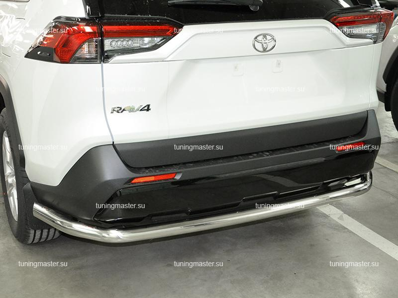 Защита заднего бампера Toyota RAV4 XA50 труба Ø60
