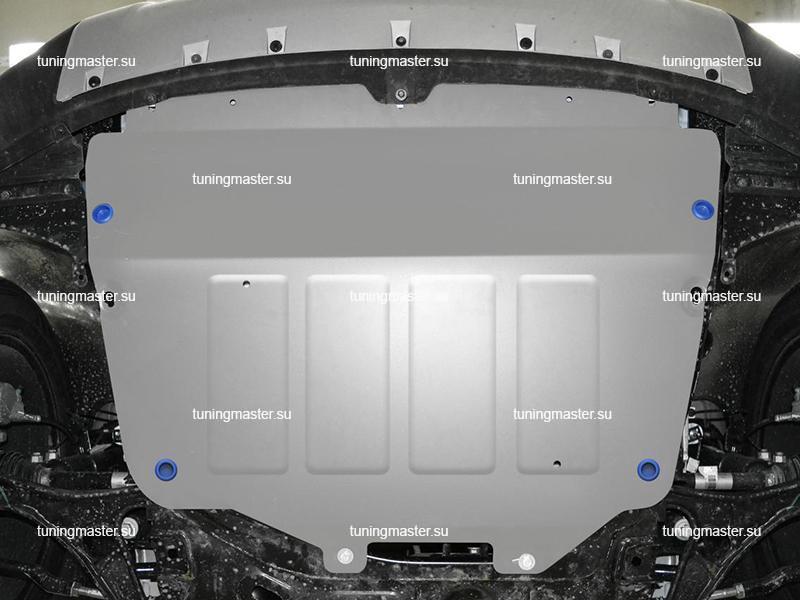 Защита картера и КПП Chery Tiggo 4 (алюминиевая)