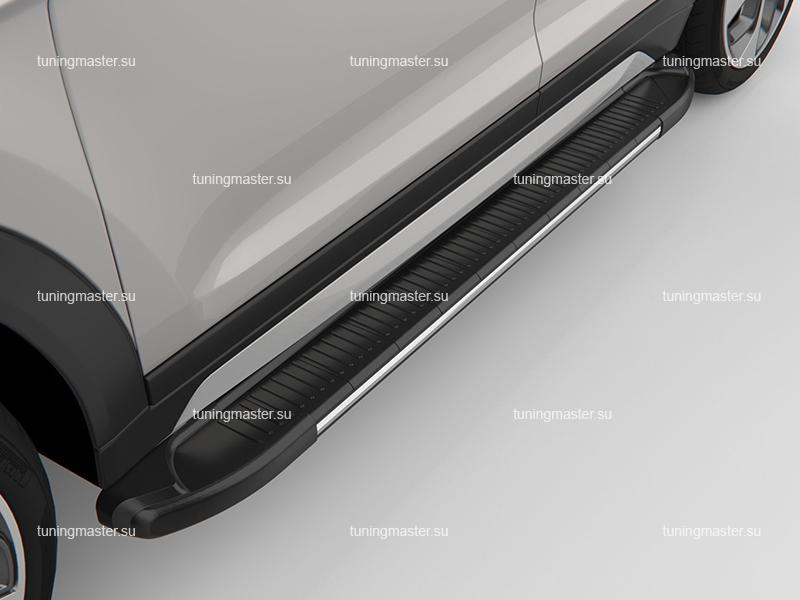 Пороги алюминиевые на авто (Onyx)