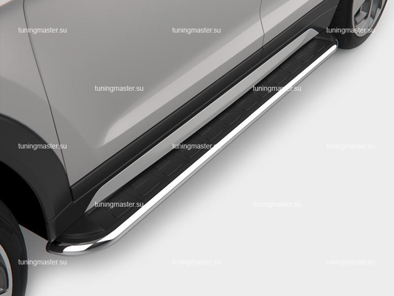 Пороги алюминиевые на авто (Ring) Canotomotiv