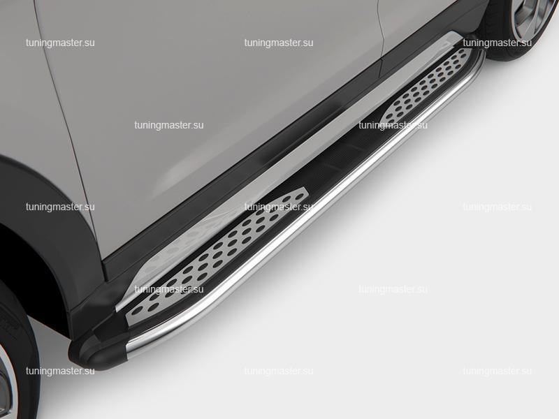 Пороги алюминиевые Zirkon (canotomotive)