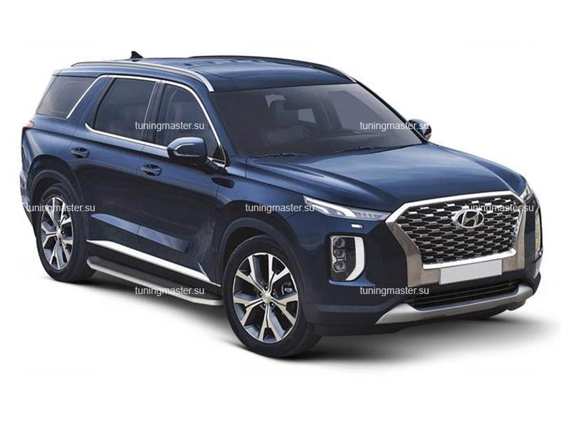 Пороги Hyundai Palisade (Premium)