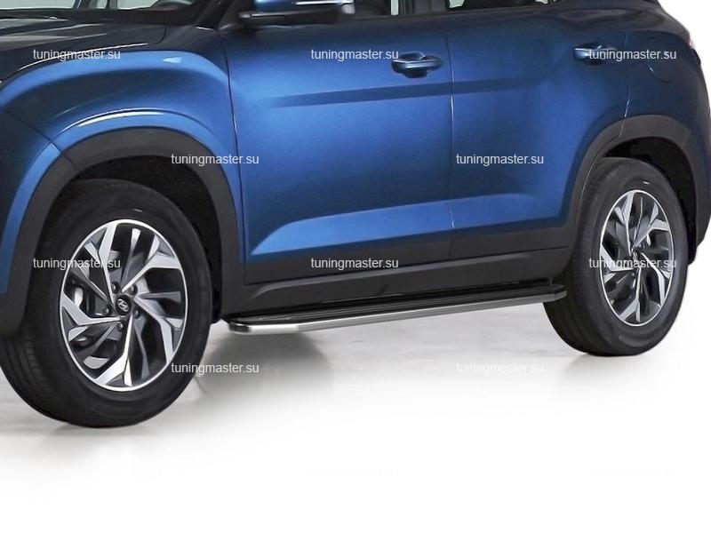 Пороги Hyundai Creta 2 (Premium)