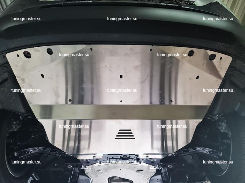 Защита картера и КПП Mazda CX-30 (алюминиевая)